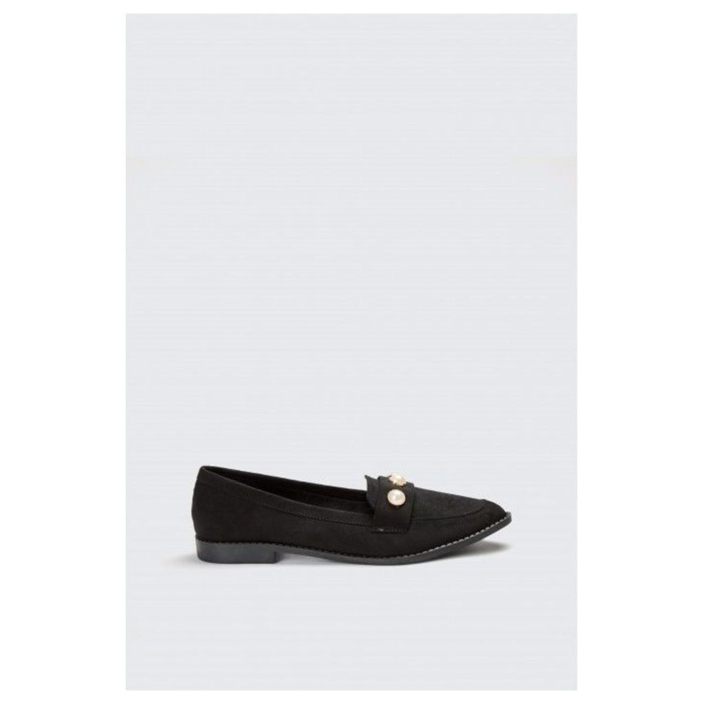 PEARL LOAFERS
