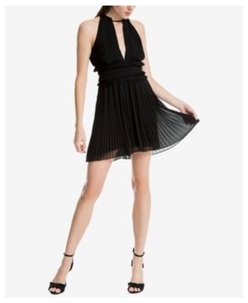 Max Studio London Pleated Crepe Dress, Created for Macy's