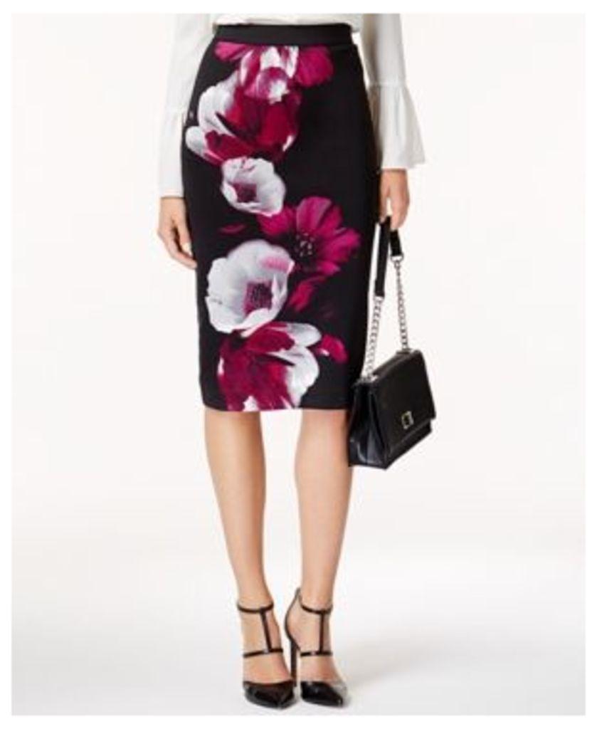 Alfani Printed Midi Pencil Skirt, Created for Macy's