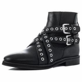 Spylovebuy  Spyda  women's Low Ankle Boots in Black