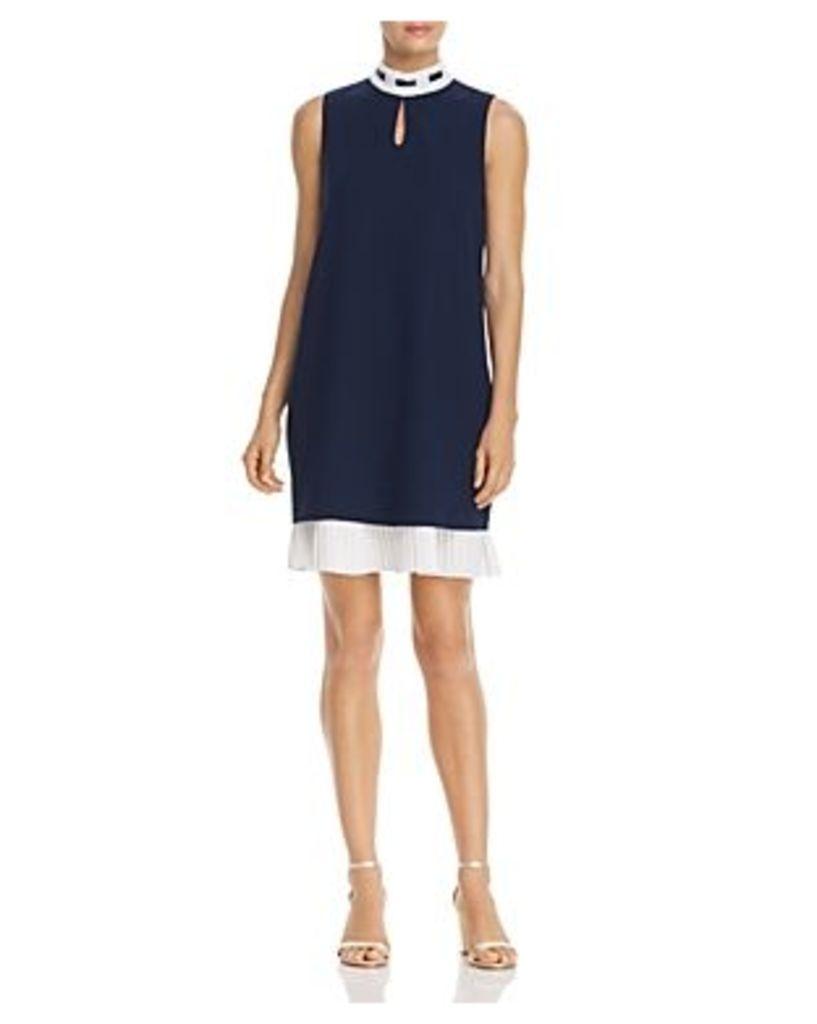 nanette Nanette Lepore Pleated-Hem Dress