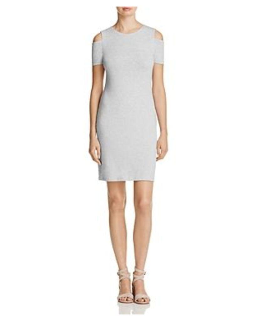 1.state Cold-Shoulder Knit Dress