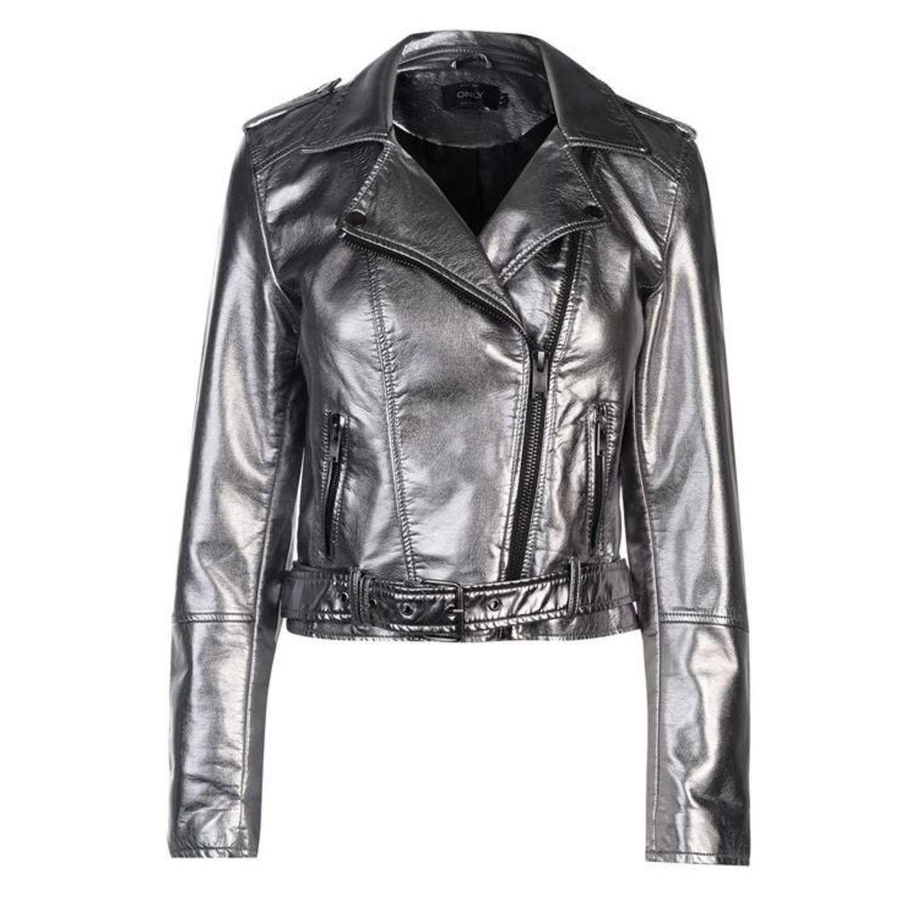 Only Ann Metallic Jacket