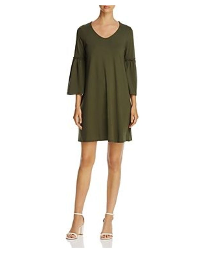 Cupio Bell-Sleeve Swing Dress