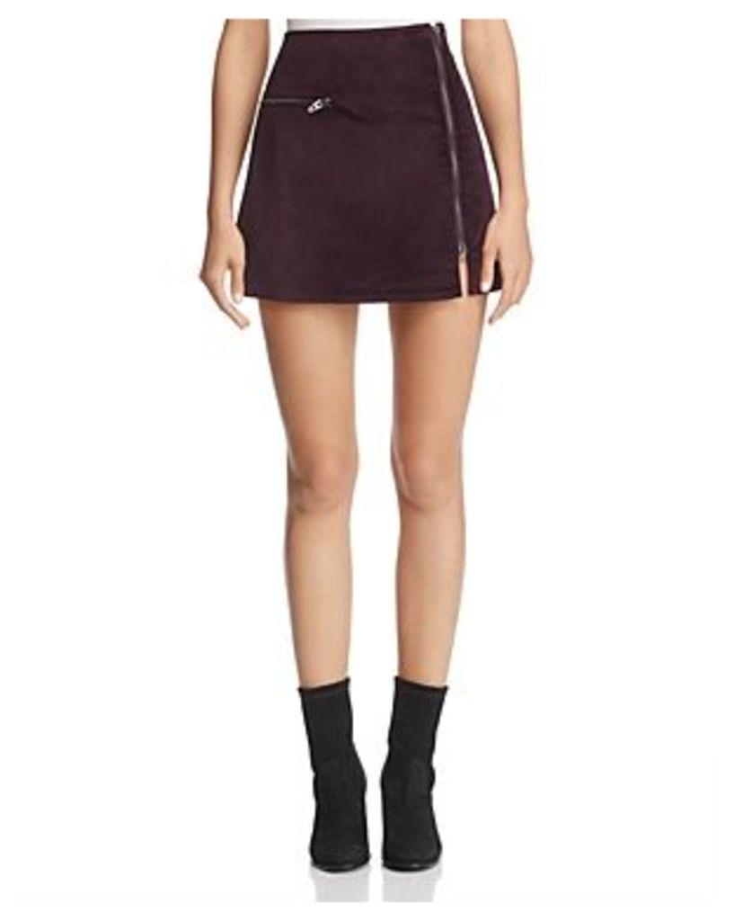 Blanknyc Velveteen Mini Skirt - 100% Exclusive
