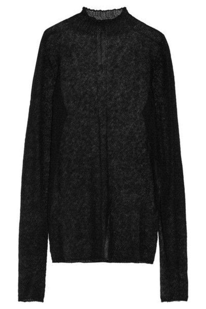 Rick Owens - Alpaca-blend Turtleneck Sweater - Black