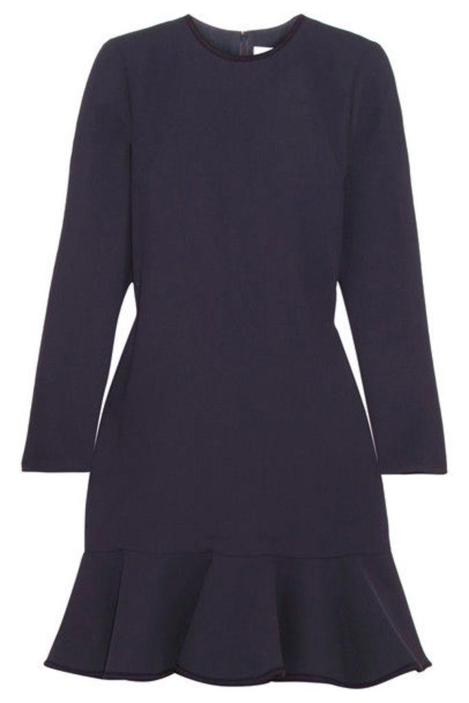 Victoria, Victoria Beckham - Crepe Mini Dress - Navy