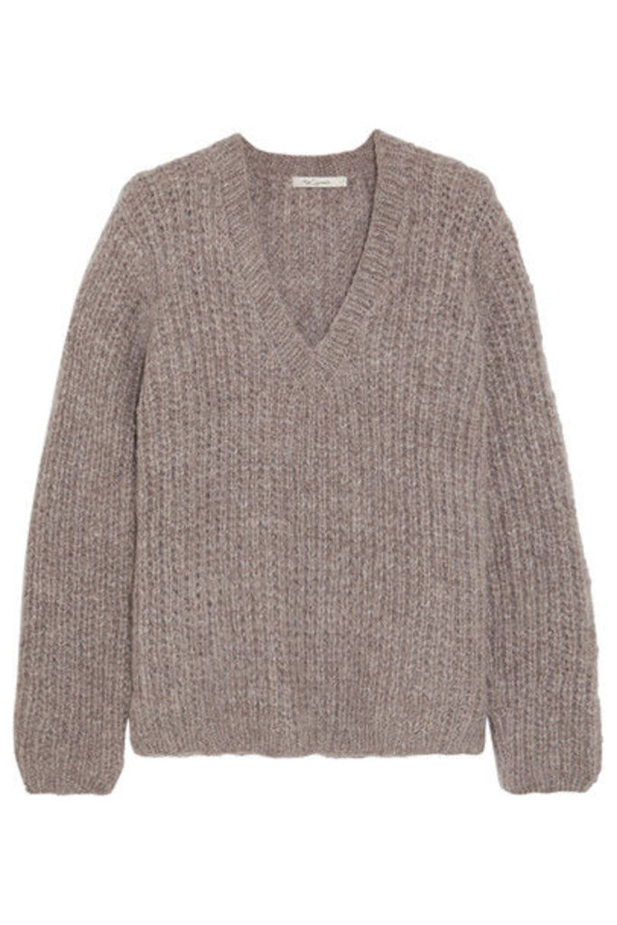 Mes Demoiselles - Odeon Ribbed-knit Sweater - Taupe