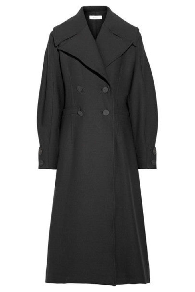 Beaufille - Ono Double-breasted Twill Coat - Black