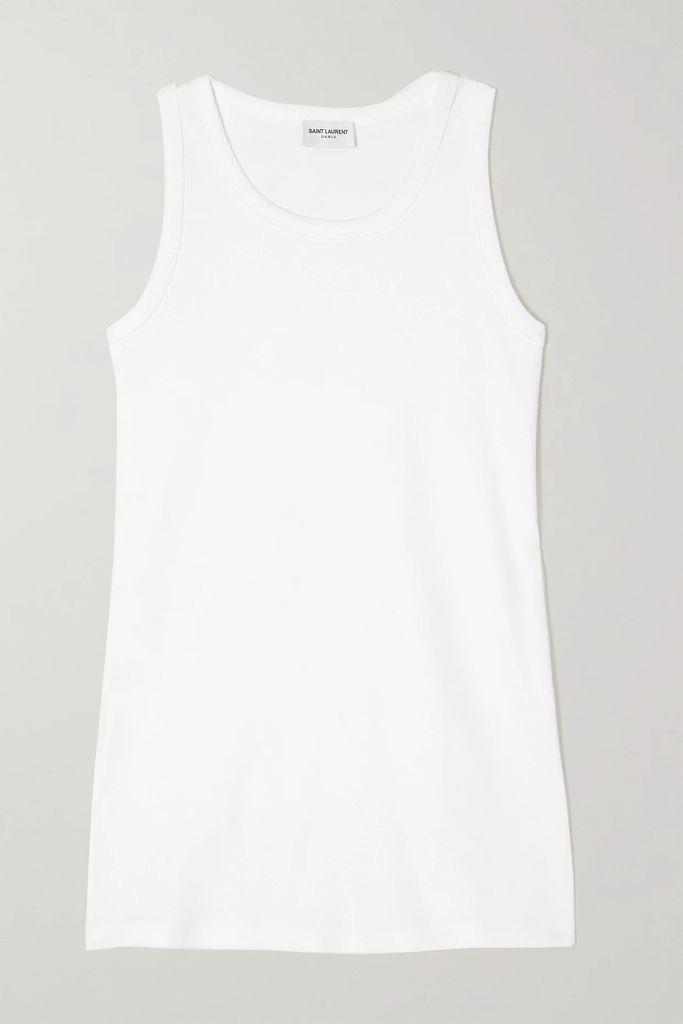 Hillier Bartley - Fringed Printed Velvet Dress - Black