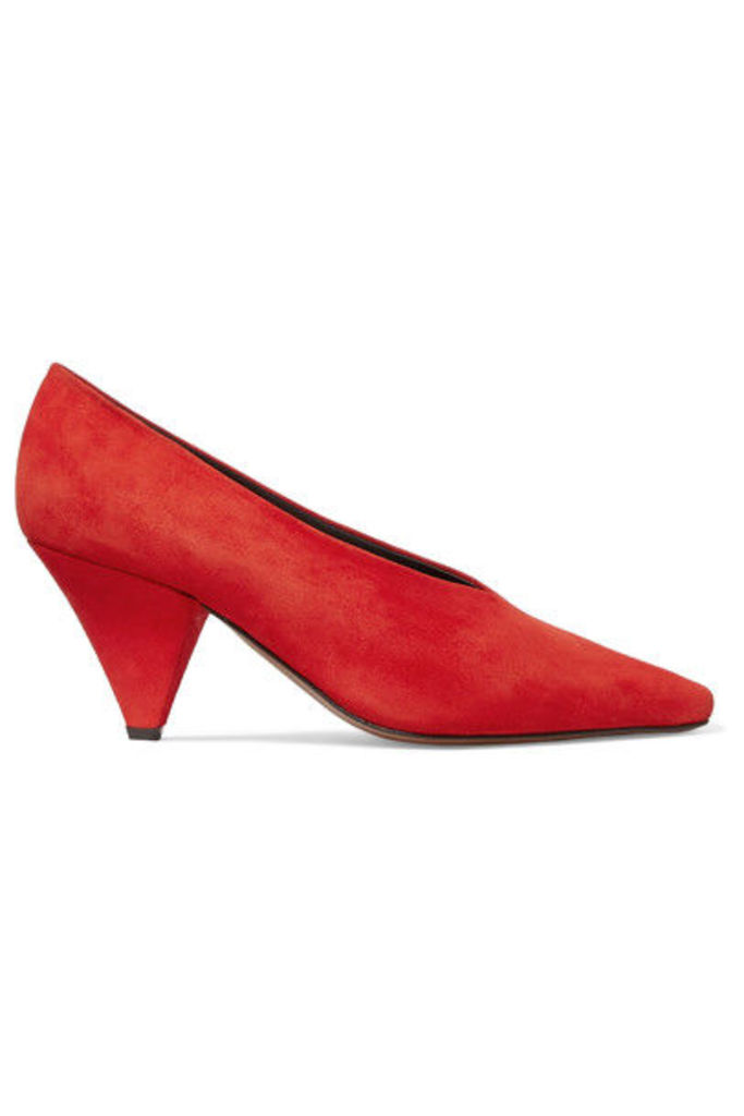 Neous - Aunty Suede Pumps - Red