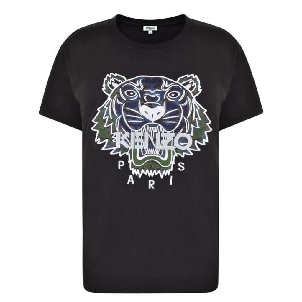 KENZO Print Tiger T Shirt
