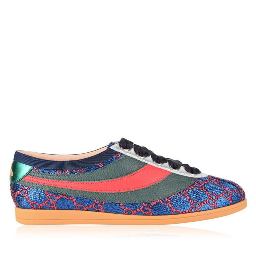 GUCCI Falacer Lurex Gg Trainers