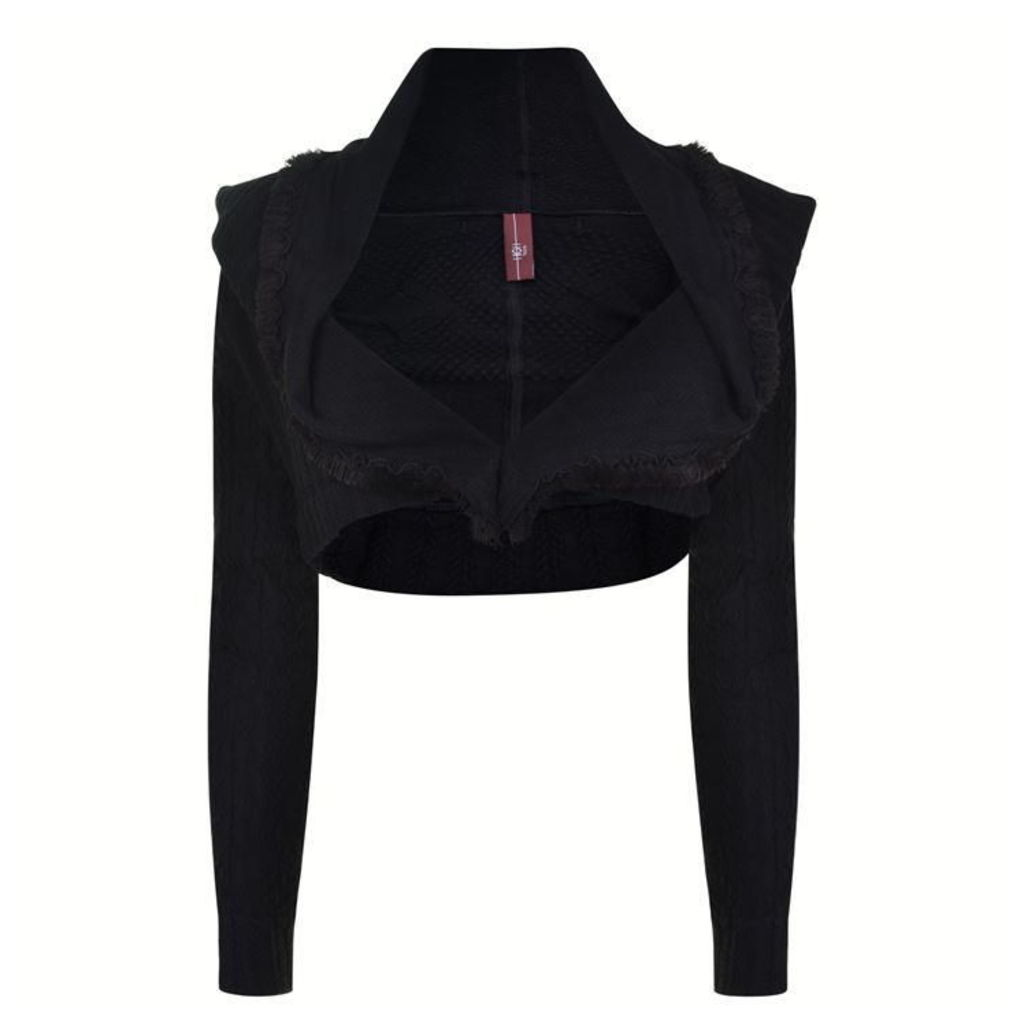 HIGH Knitted Bolero Jacket