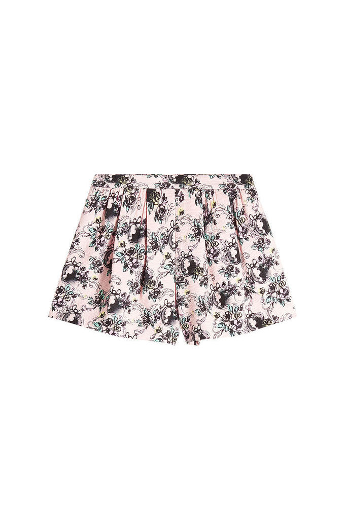 Boutique Moschino Printed Cotton Shorts