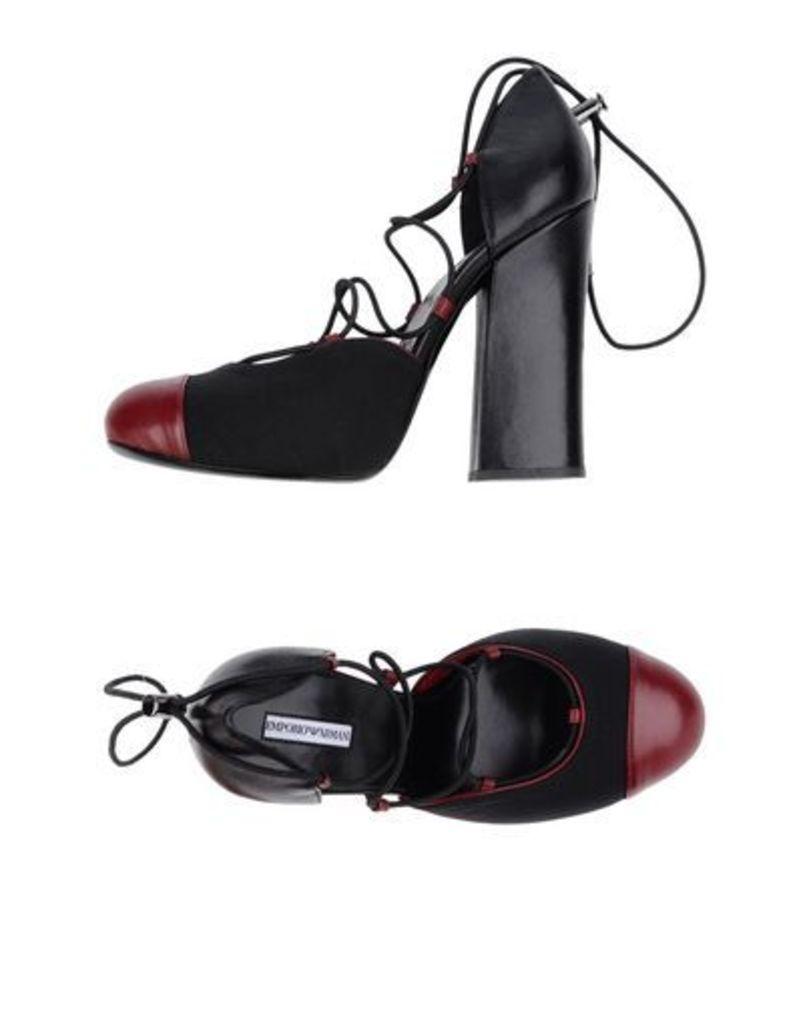 EMPORIO ARMANI FOOTWEAR Courts Women on YOOX.COM