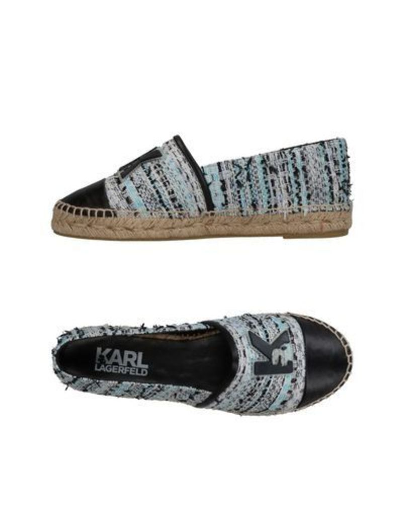 KARL LAGERFELD FOOTWEAR Espadrilles Women on YOOX.COM