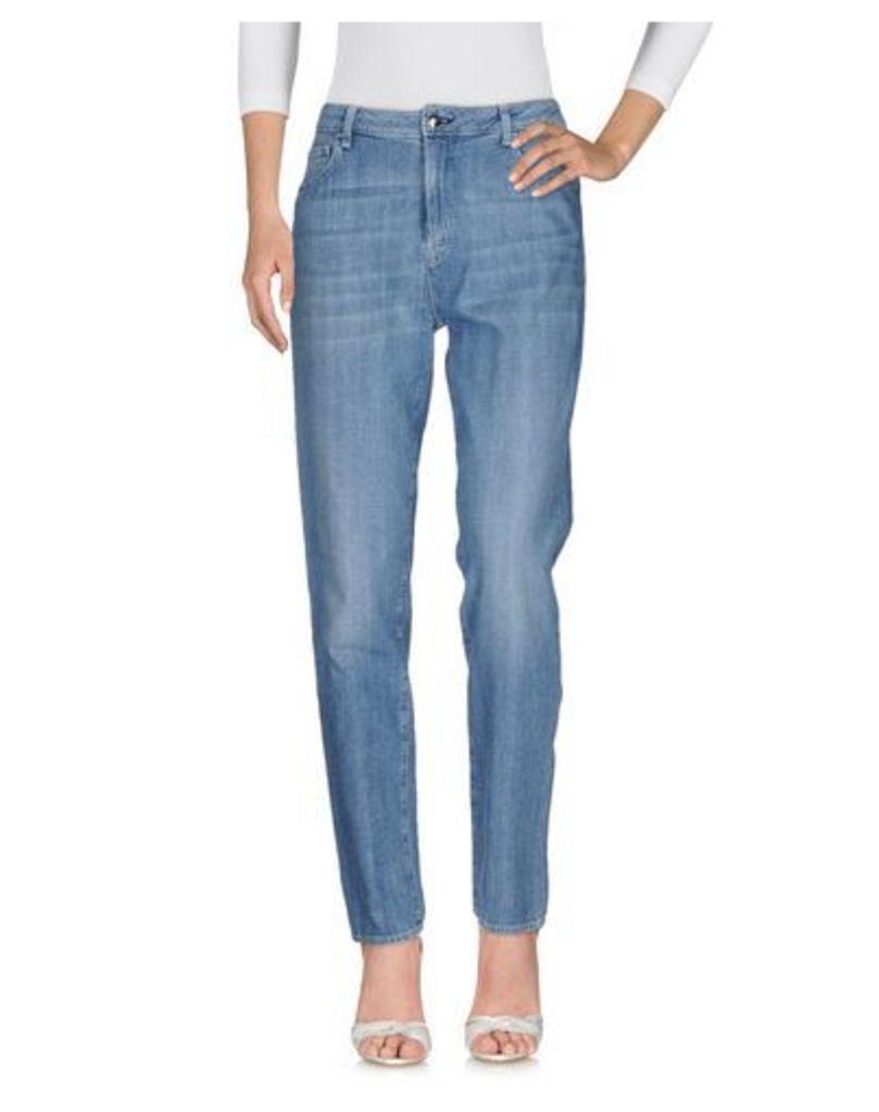 THE SEAFARER DENIM Denim trousers Women on YOOX.COM