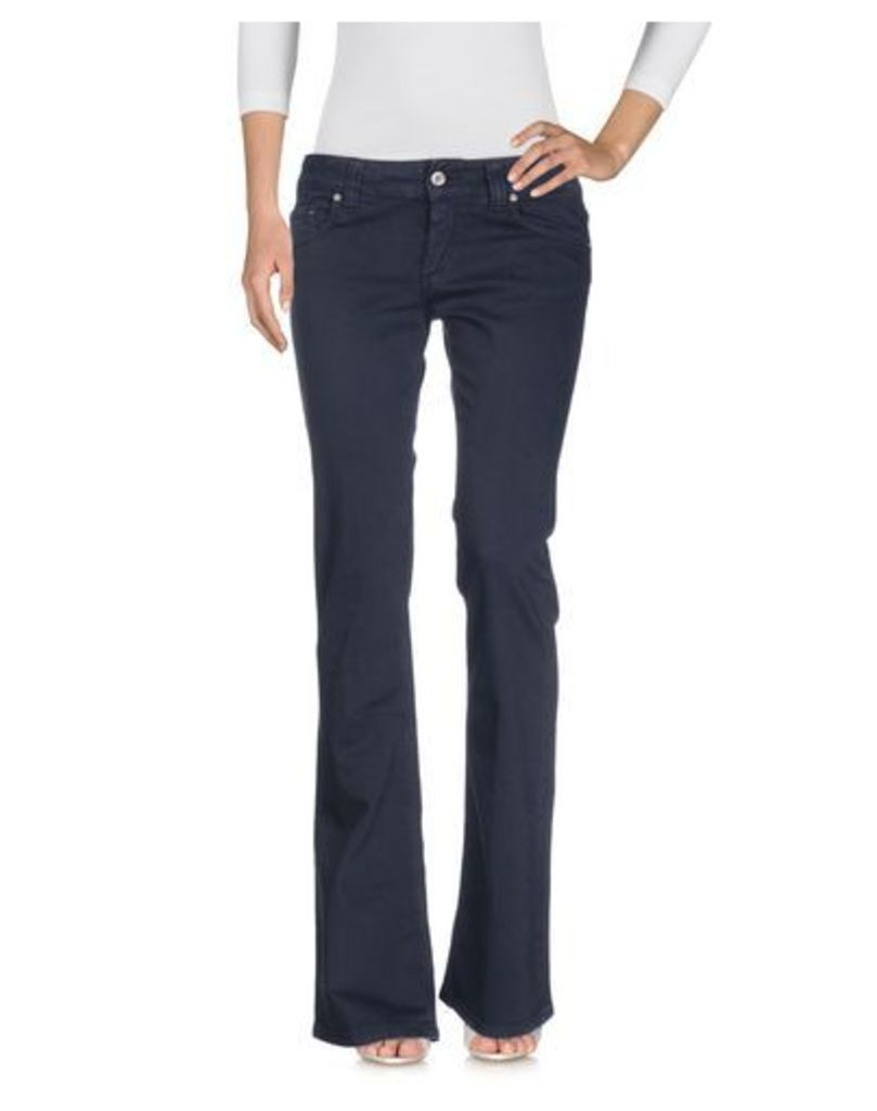 DONDUP DENIM Denim trousers Women on YOOX.COM