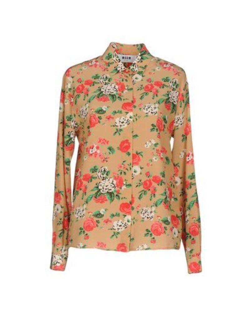 MSGM SHIRTS Shirts Women on YOOX.COM