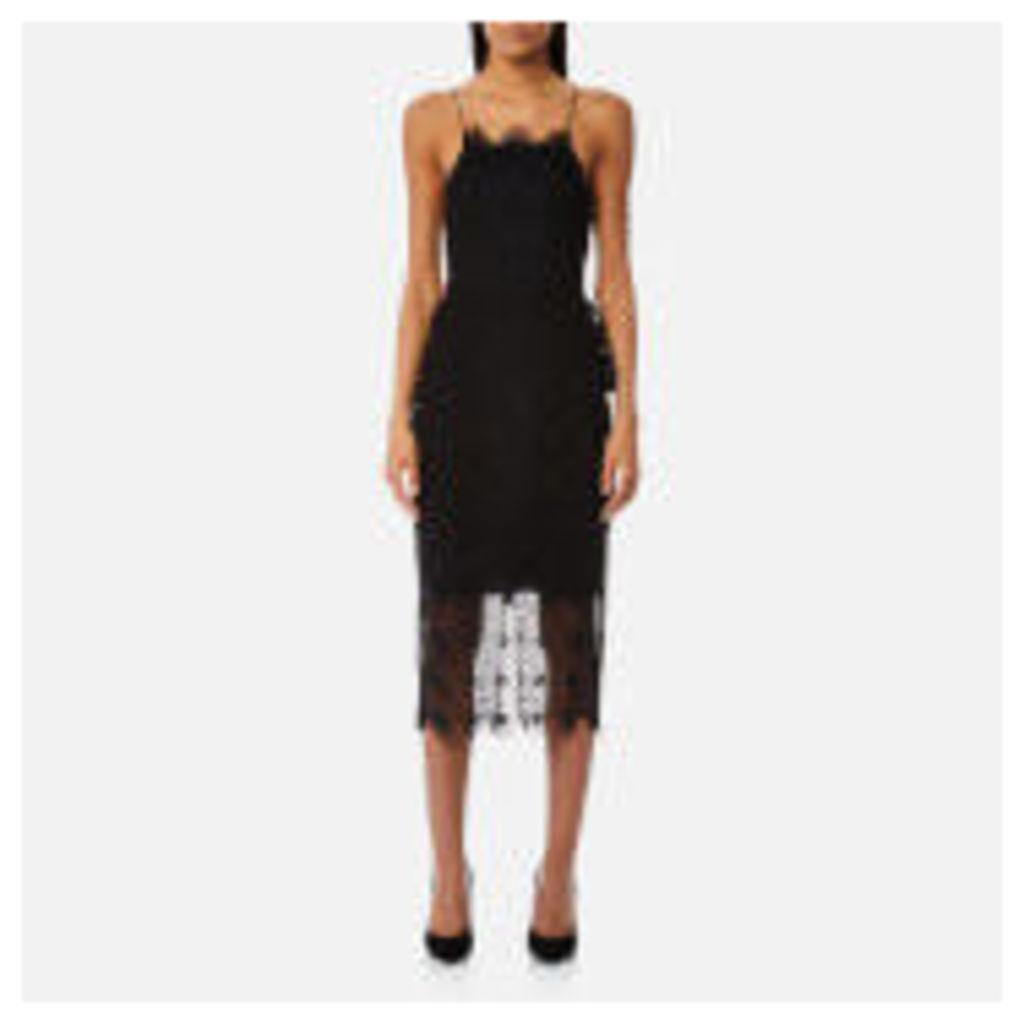 Bec & Bridge Women's Daisy Chain Midi Dress - Black - UK 6 - Black