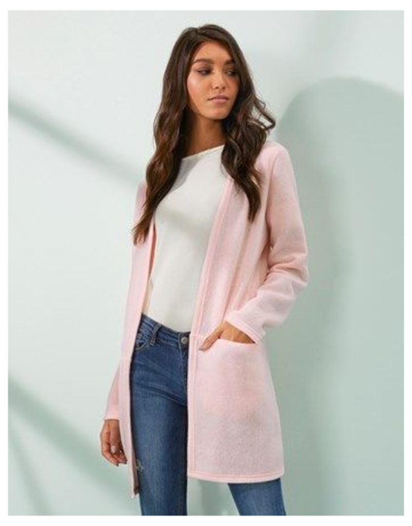Vila Vinemo Long Line Cardigan