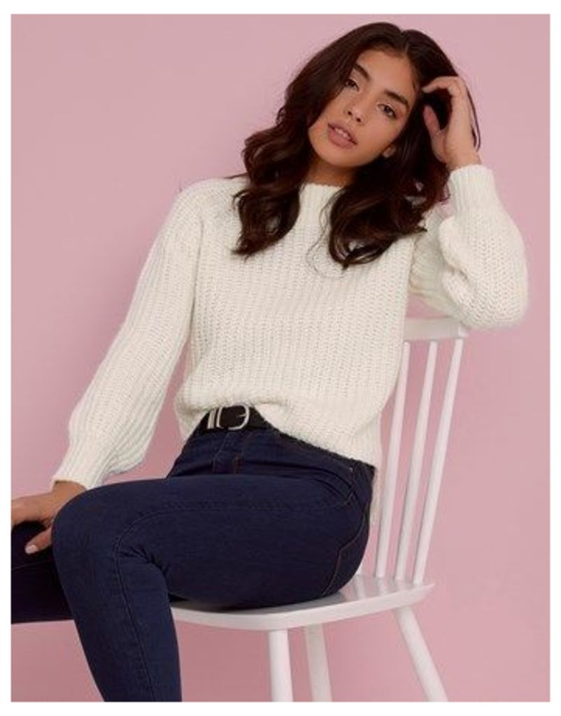Sunshine Soul High Neck Chunky Jumper
