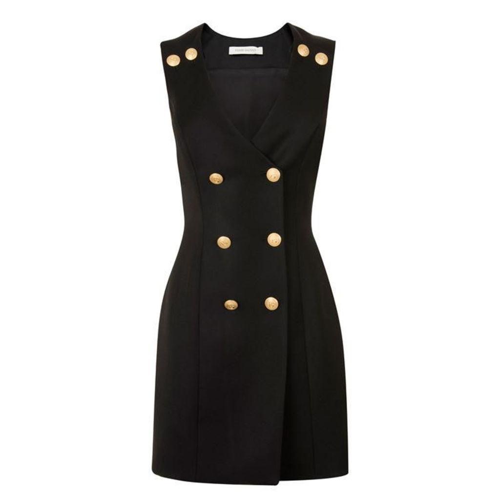 PIERRE BALMAIN Wrap Mini Dress