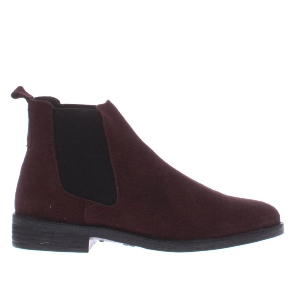 schuh burgundy prompt boots