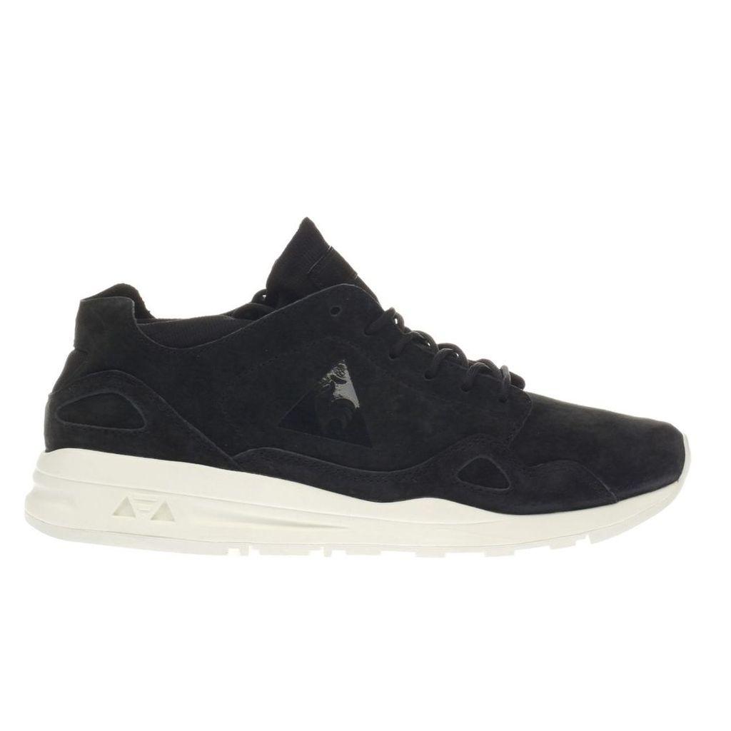 le coq sportif black & white lcs r flow trainers