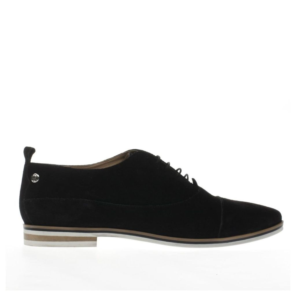 red or dead black aster flat shoes