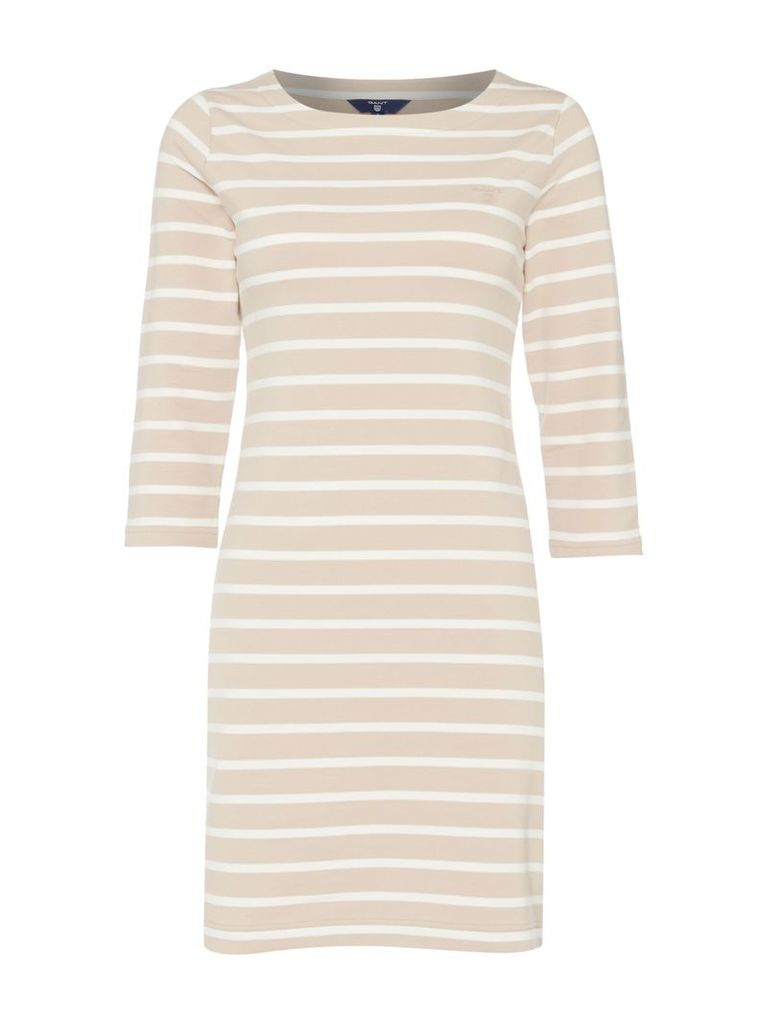 Gant Sailor jersey dress, White