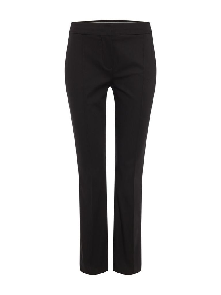 Sportmax Code Miss Front seam trousers, Black