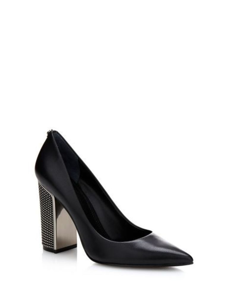 Guess Rila Leather Court Shoe