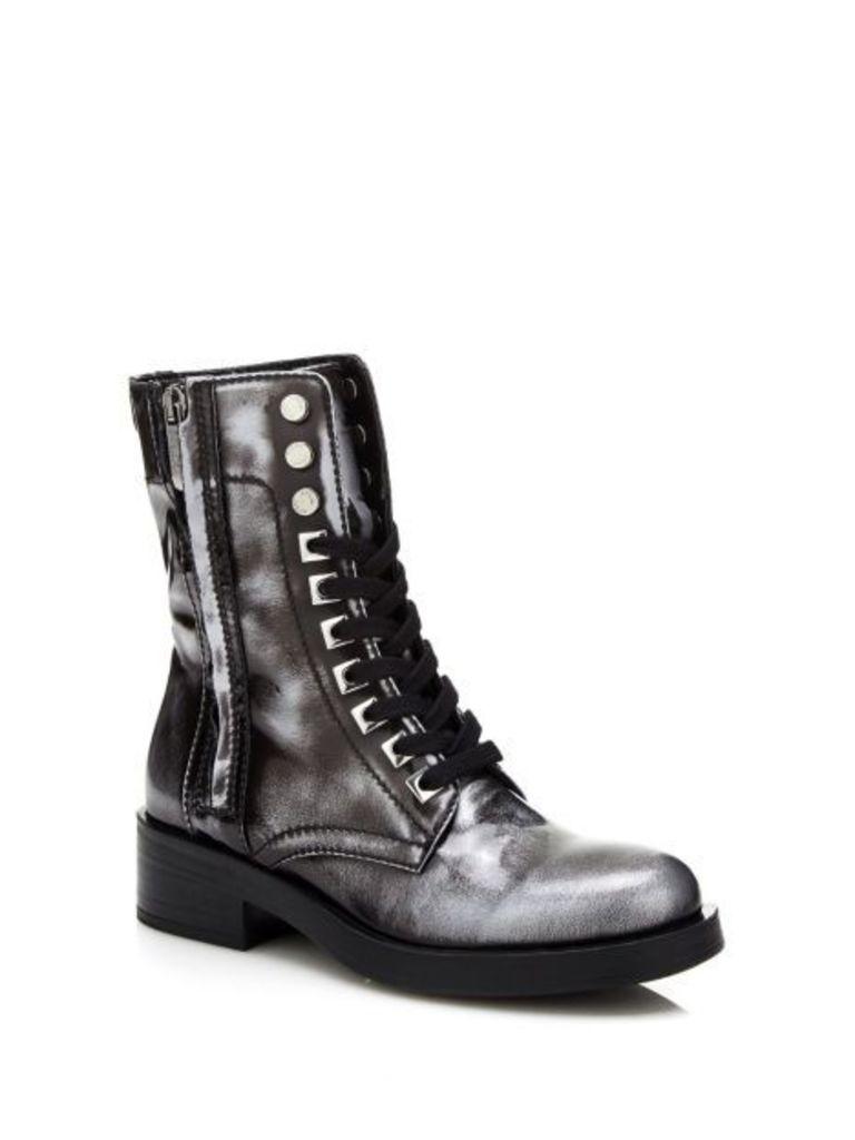 Guess Zamaya Low Leather Boot