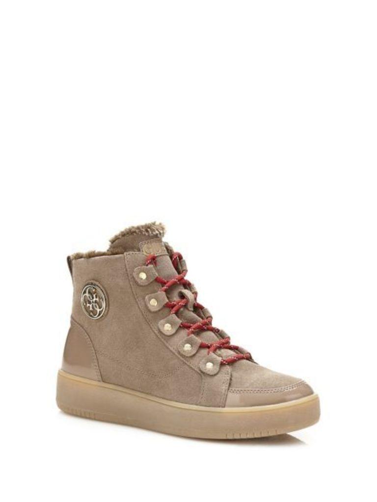 Guess Dina High Suede Sneaker