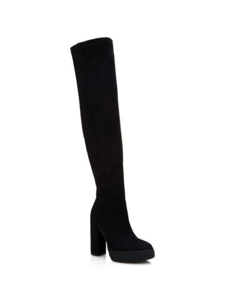 Guess Dolores High Suede-Look Boot