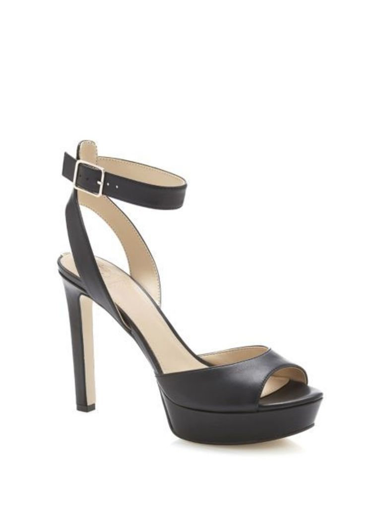 Guess Catory Real Leather Sandal