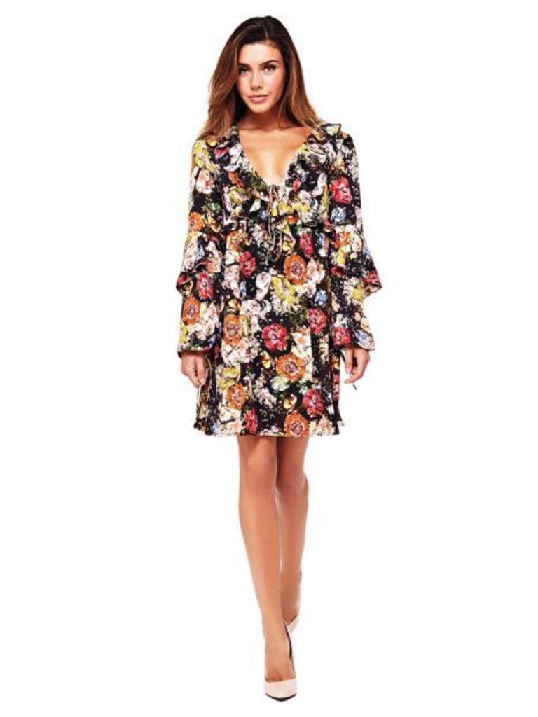 Guess Floral Print Dress