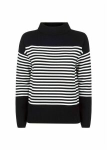Marina Sweater Navy Ivory XS