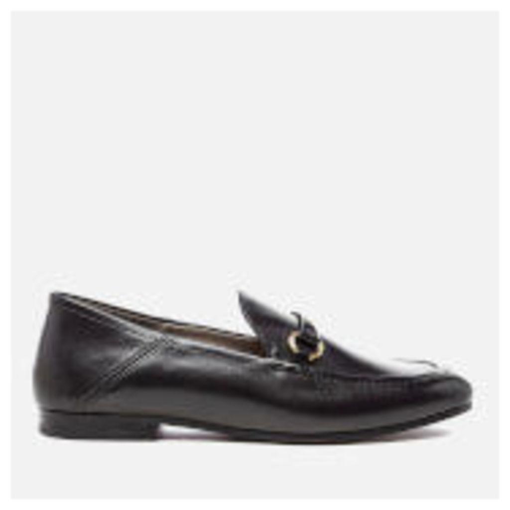 Hudson London Women's Arianna Leather Loafers - Black - UK 4 - Black