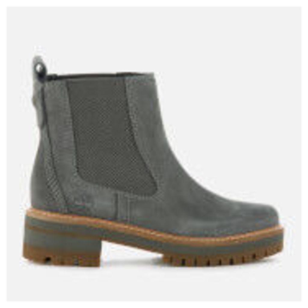 Timberland Women's Courmayeur Valley Chelsea Boots - Gunmetal - UK 6 - Grey