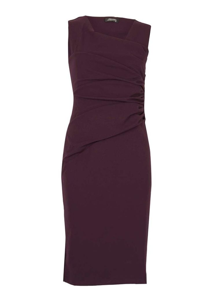 Womens *Feverfish Purple Bodycon Dress- Purple