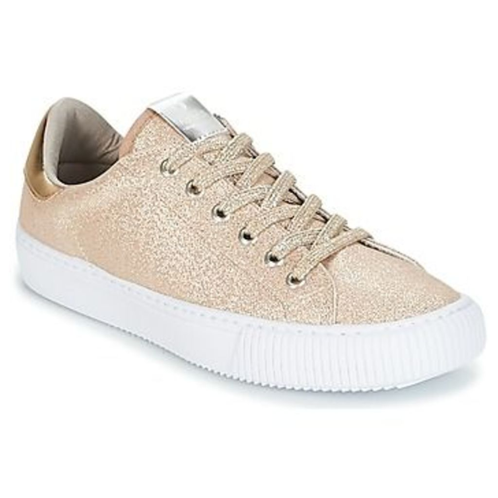 Victoria  DEPORTIVO LUREX  women's Shoes (Trainers) in Gold