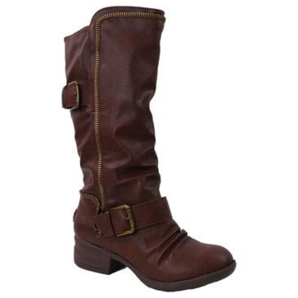 Rocket Dog  Dallon Sierra PU  women's High Boots in Brown