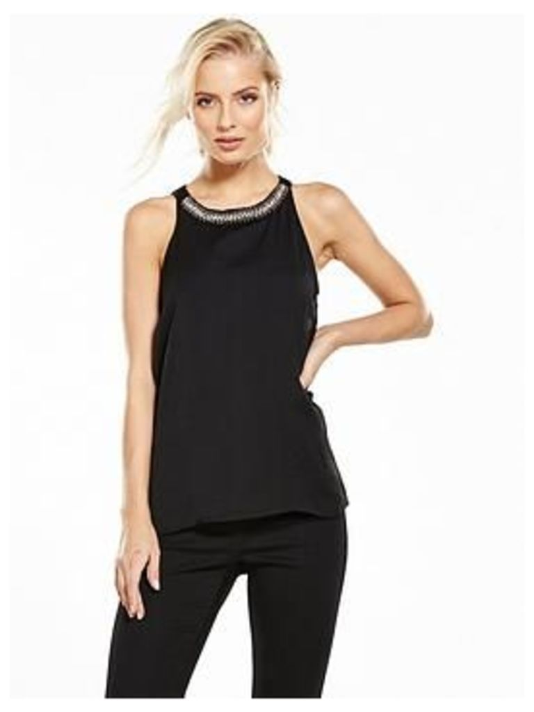 Vila Shine Sleeveless Top