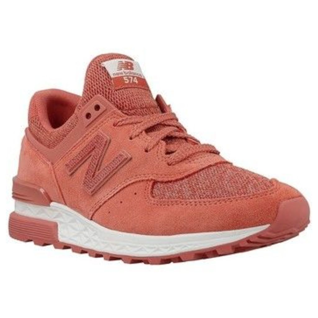 New Balance  NBWS574CRB070  women's Shoes (Trainers) in Pink