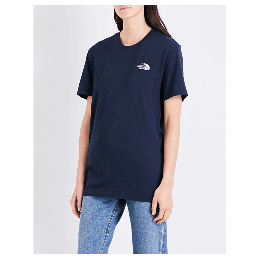 Simple Dome cotton-jersey T-shirt