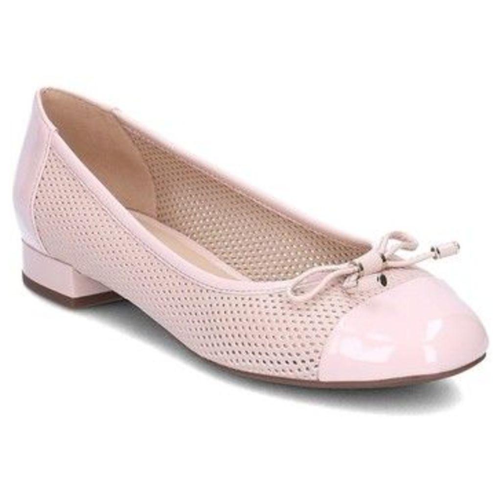Geox  Wistrey  women's Shoes (Pumps / Ballerinas) in Pink