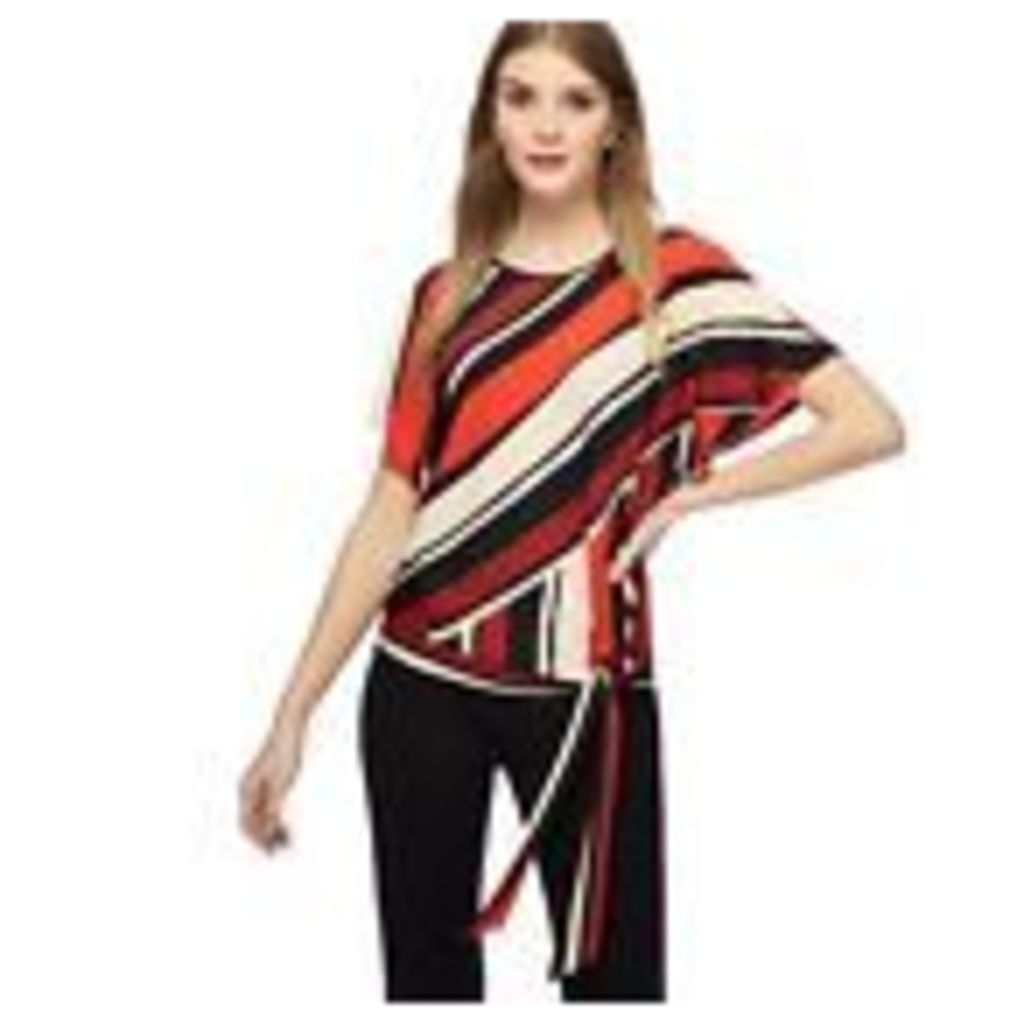 Principles Womens Red Striped Jersey Top From Debenhams